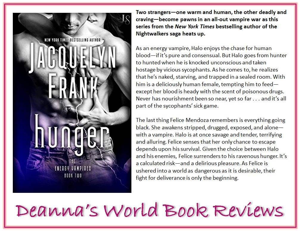 Hunger by Jacquelyn Frank blurb