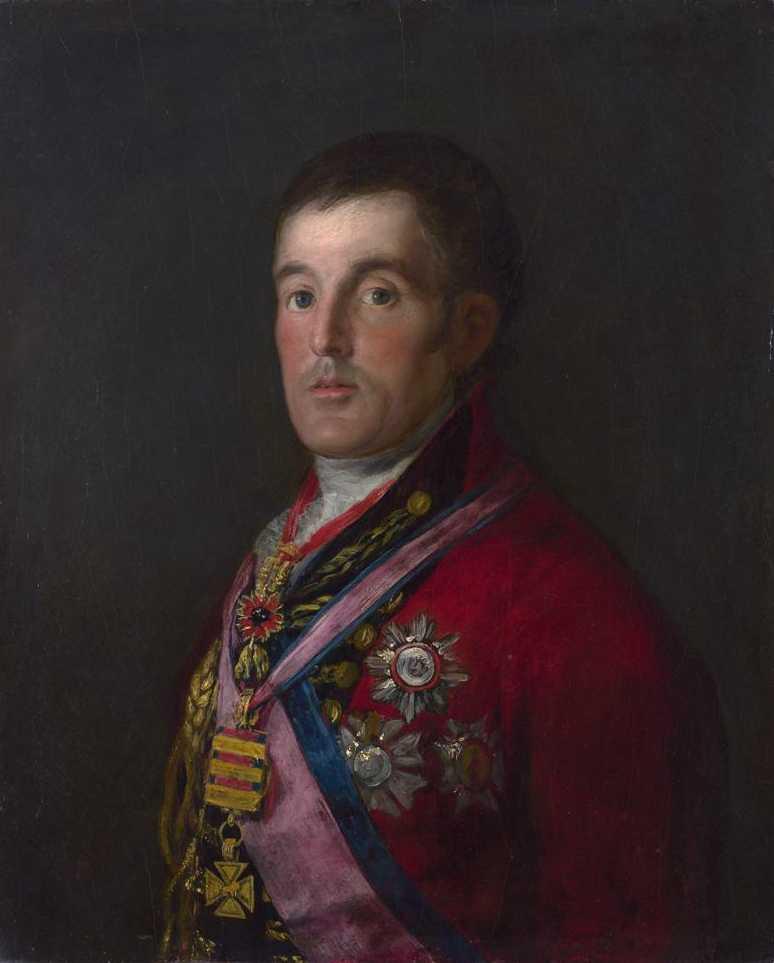 Портрет Артура Уэлсли, герцога Веллингтонского