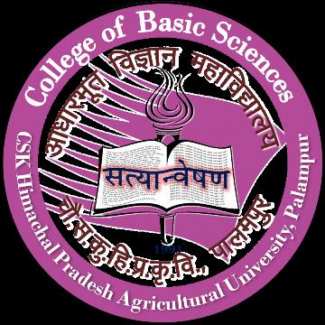 College of Basic Science, Chaudhary Sarwan Kumar Himachal Pradesh Krishi Vishvavidyalaya, Palampur