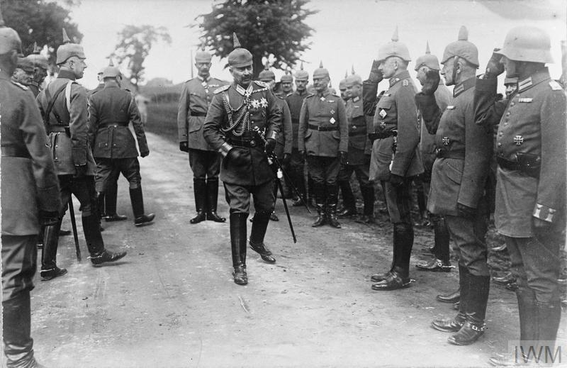 La visite du Kaiser à Denain - Copyright IWM