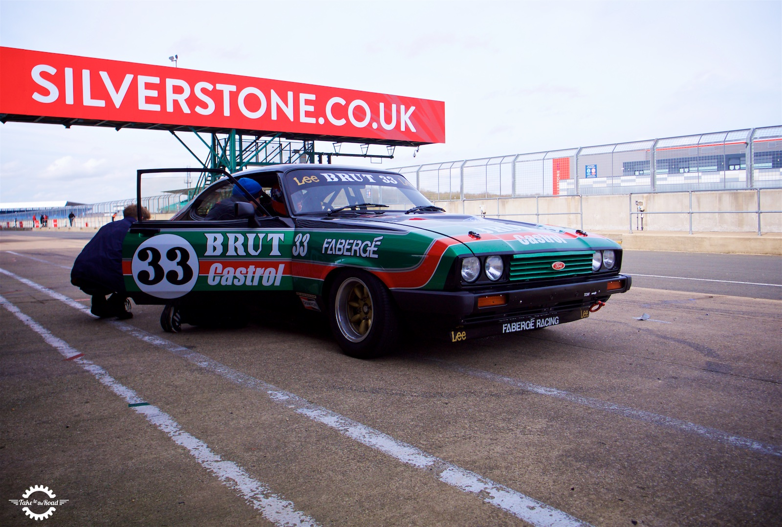Take to the Road Feature Ford Capri Faberge Testing at Silverstone