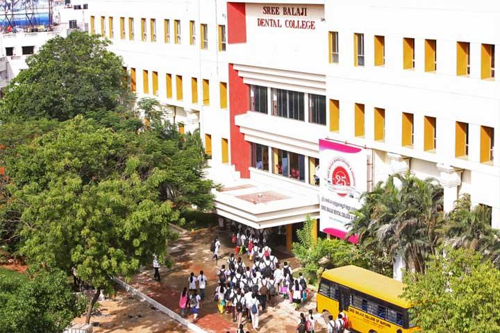 Sree Balaji Dental College and  Hospital, Chennai Image