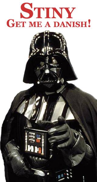 Image: Vader, get me a danish!