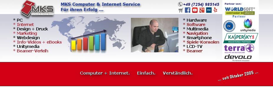 Ratgeber für PC + Internet - Tipps, Tricks + eBooks von MKS Computer + Internet Service