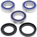 Rear Wheel Bearings and Seals Kit Kawasaki ZX636F Ninja ZX-6R ABS 2013 2014 2015