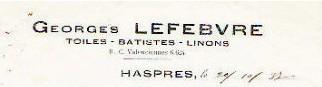 Tissage Georges Lefebvre