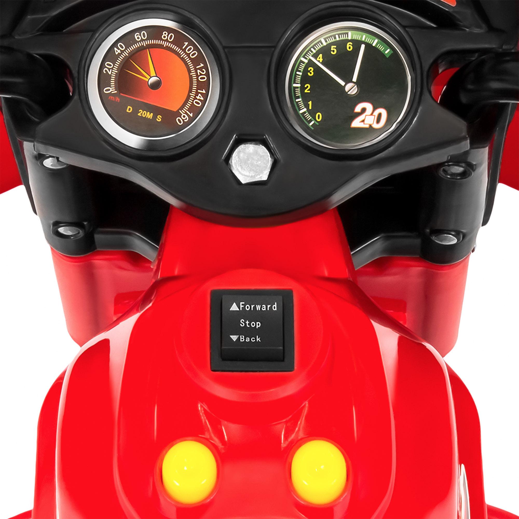 BCP-6V-Kids-3-Wheel-Motorcycle-Ride-On-Toy-w-LED-Lights-Music-Storage thumbnail 35
