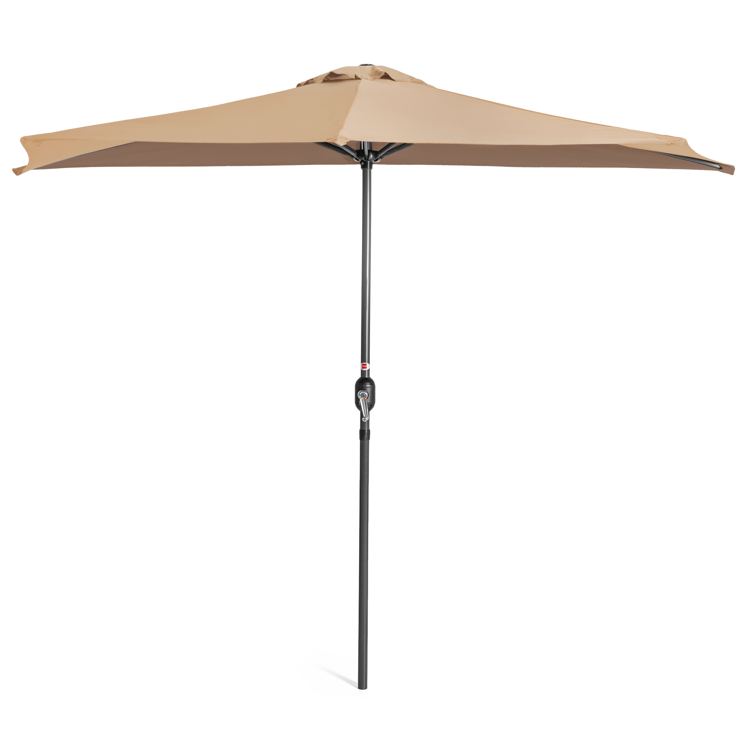 BCP-9ft-Half-Patio-Umbrella-w-Crank-Steel-Frame-UV-amp-Water-Resistant-Fabric thumbnail 33