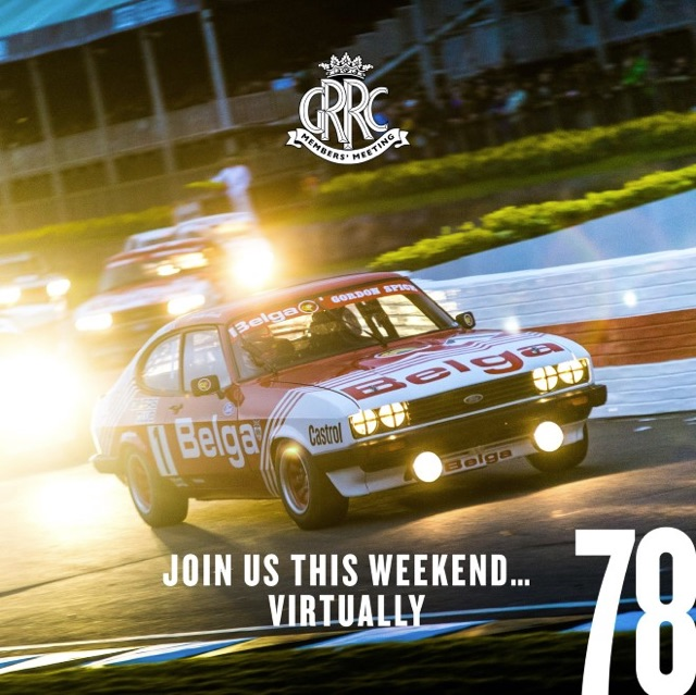Goodwood goes Virtual to replace the 78 Members Meeting