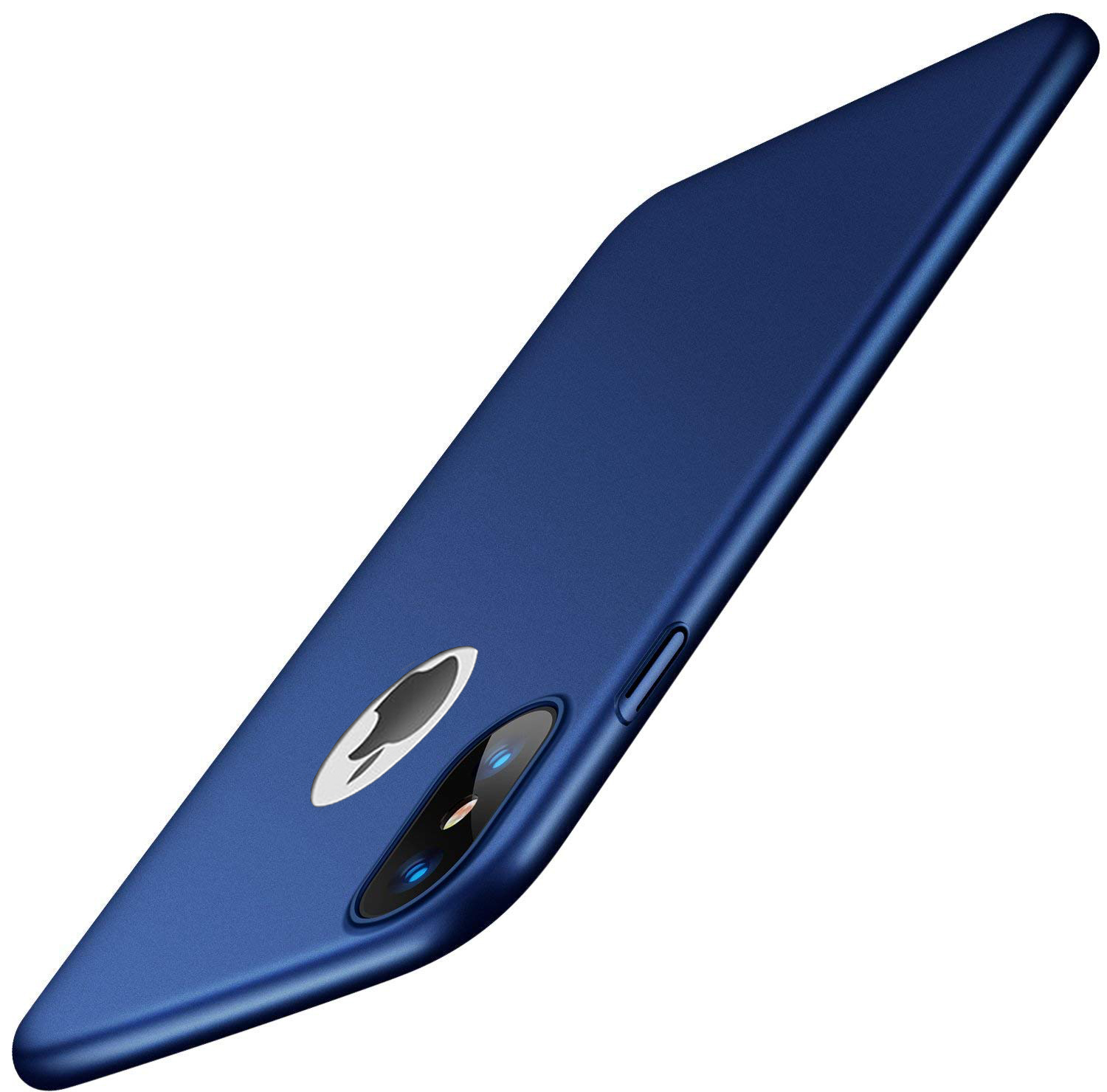 Thin-Slim-Hard-Case-Tempered-Glass-Cover-For-Apple-iPhone-X-XS-XR-Max-10-8-7-6s miniatuur 60