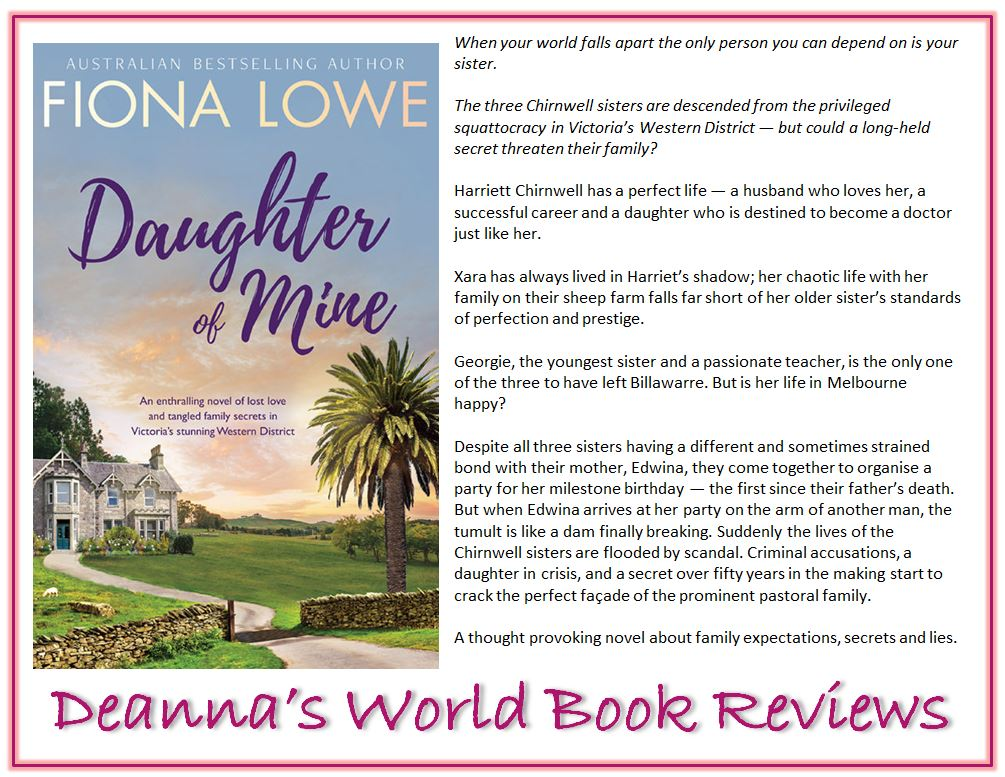 Daughter of Mine by Fiona Lowe blurb