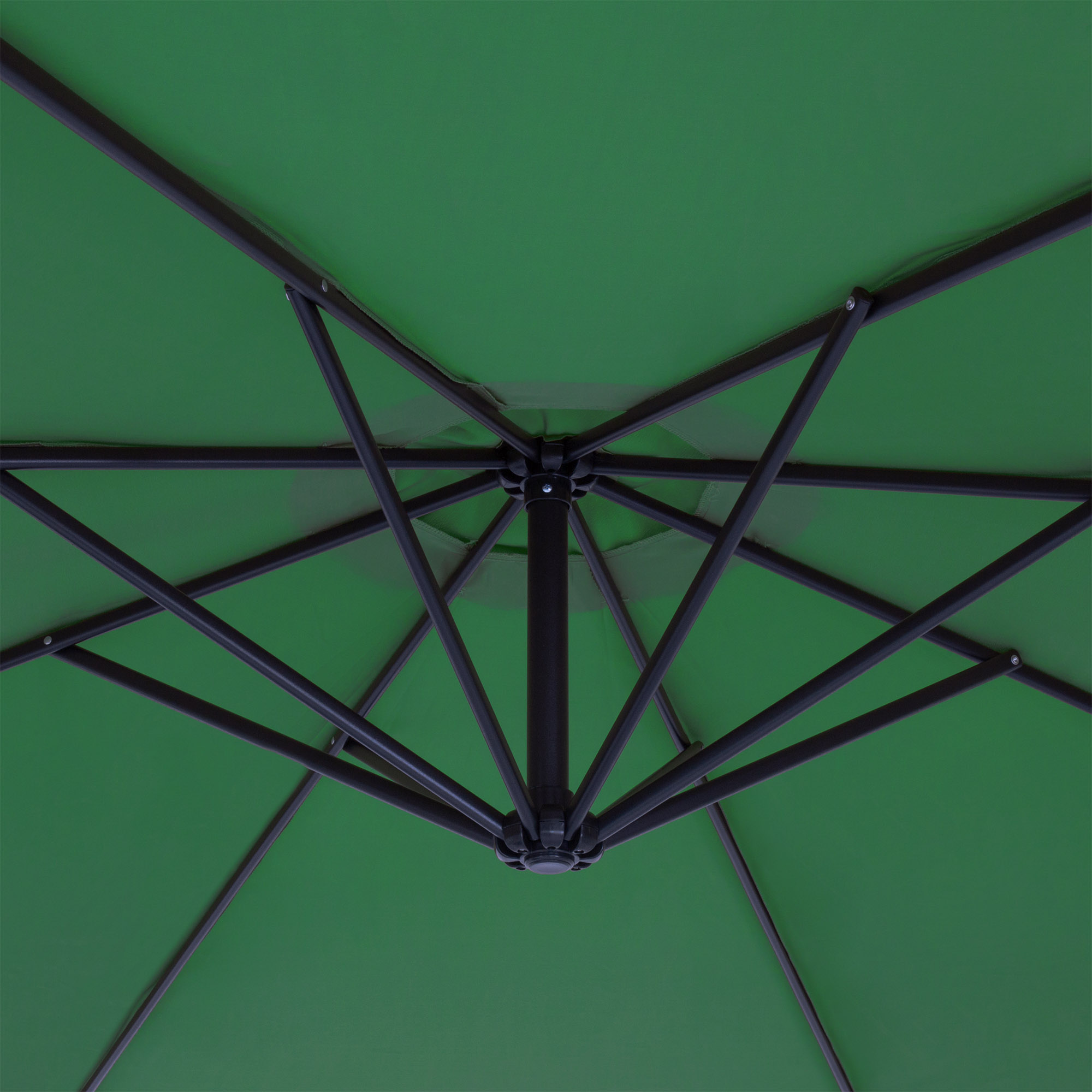 BCP-10ft-Offset-Hanging-Market-Patio-Umbrella-w-Tilt-Adjustment-Hand-Crank thumbnail 34