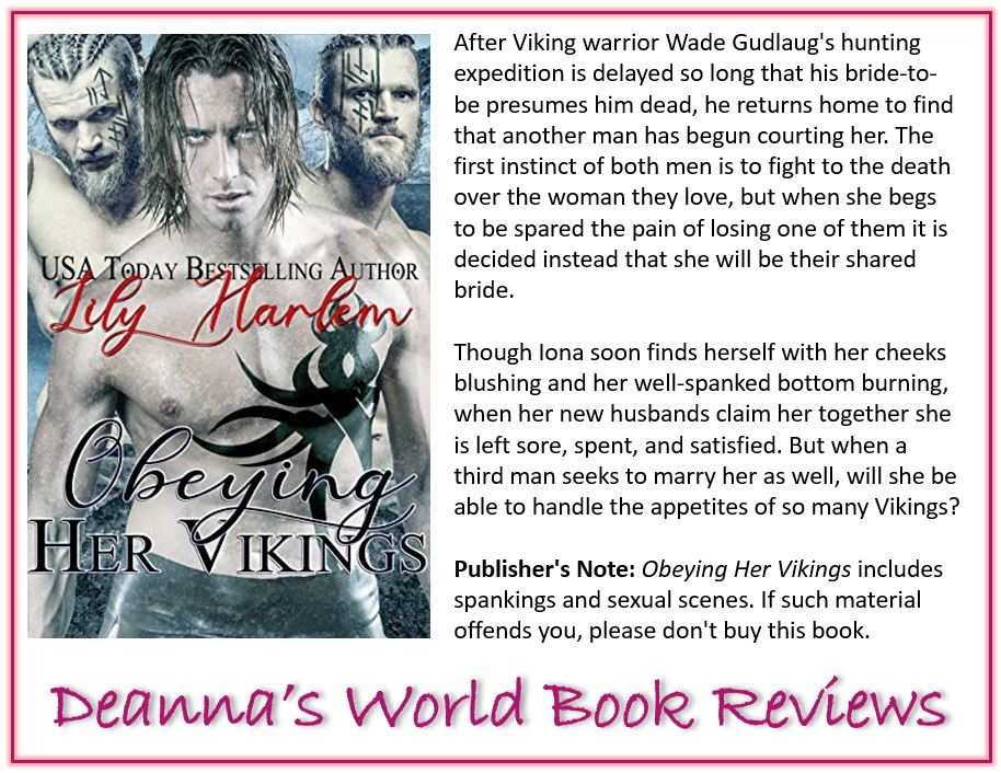 Obeying Her Vikings by Lily Harlem blurb