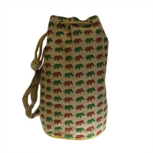 hipster duffle bag - rhino