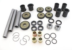 Rear Suspension A Arm Bearings Bushing Kit Honda TRX650 FGA Rincon 2004 2005