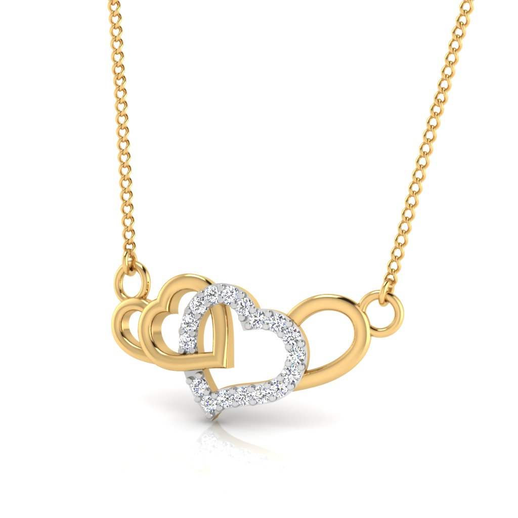 The Love Valentine Diamond Pendant