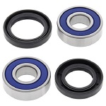 Boss Bearing 41-6272B-8H5-A-1 Front Wheel Bearings and Seals Kit Kawasaki Con...