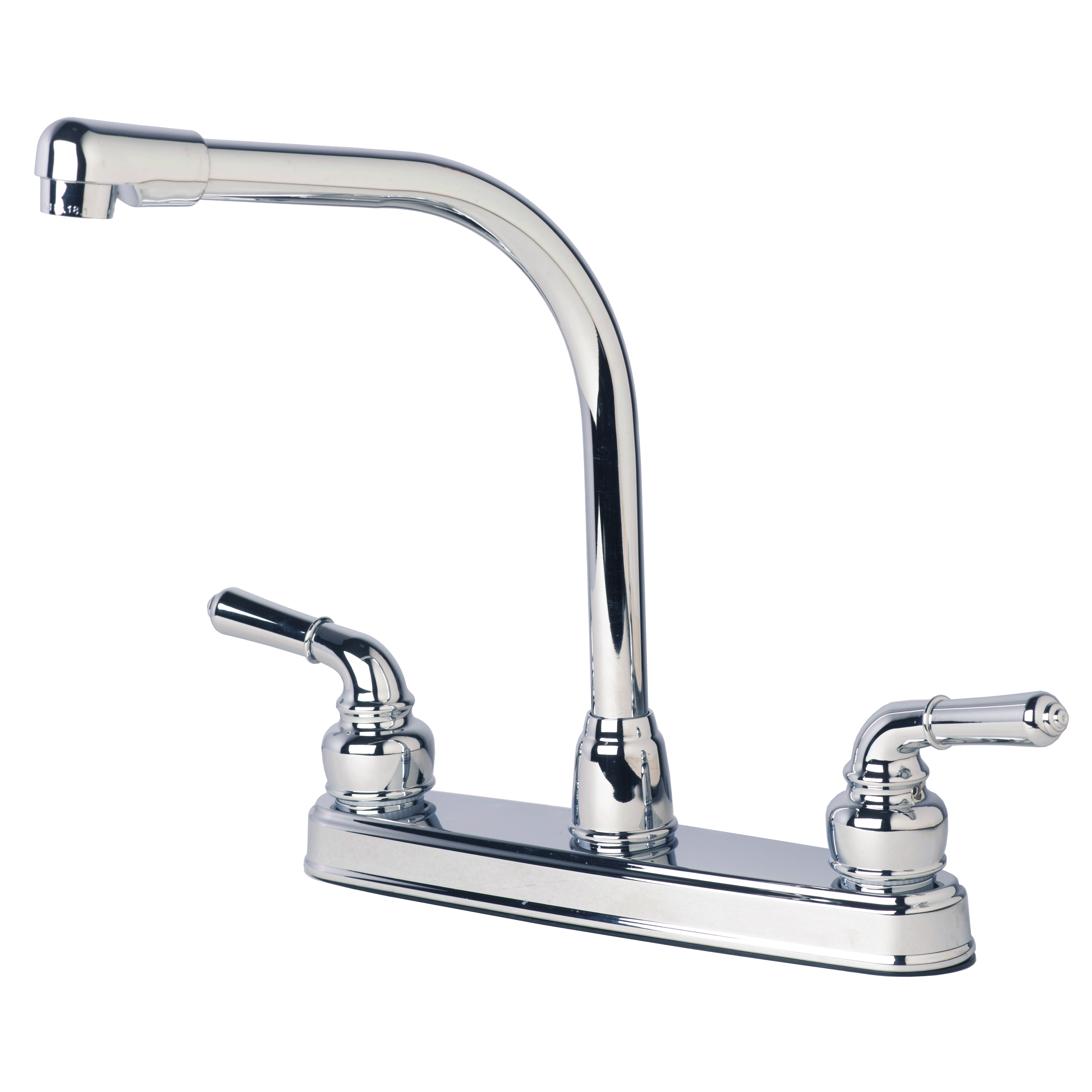 mobile home kitchen sink replacement rv mobile home classic high rise swivel kitchen faucet 9187
