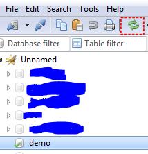 sayagusti - Database berhasil dibuat