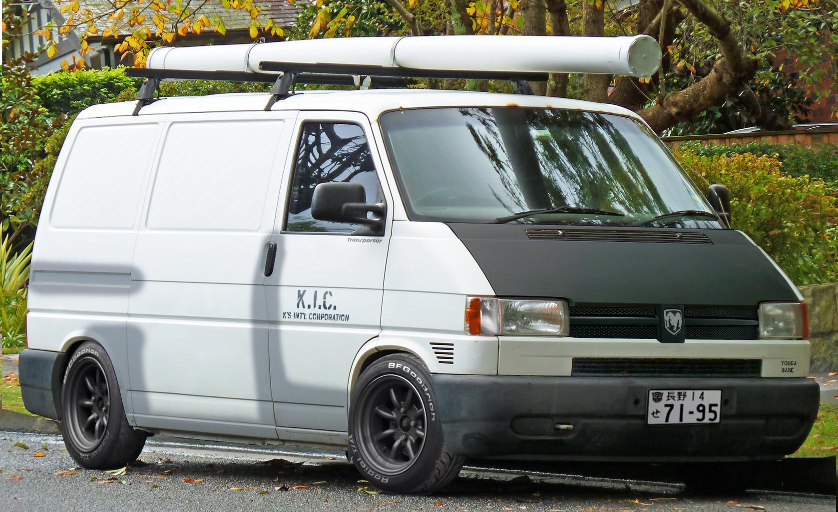 VW 'Dajiban' dodgevan T4 Transporter