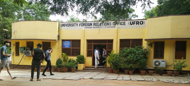 University Foreign Relations Office, Osmania University, Hyderabad Image