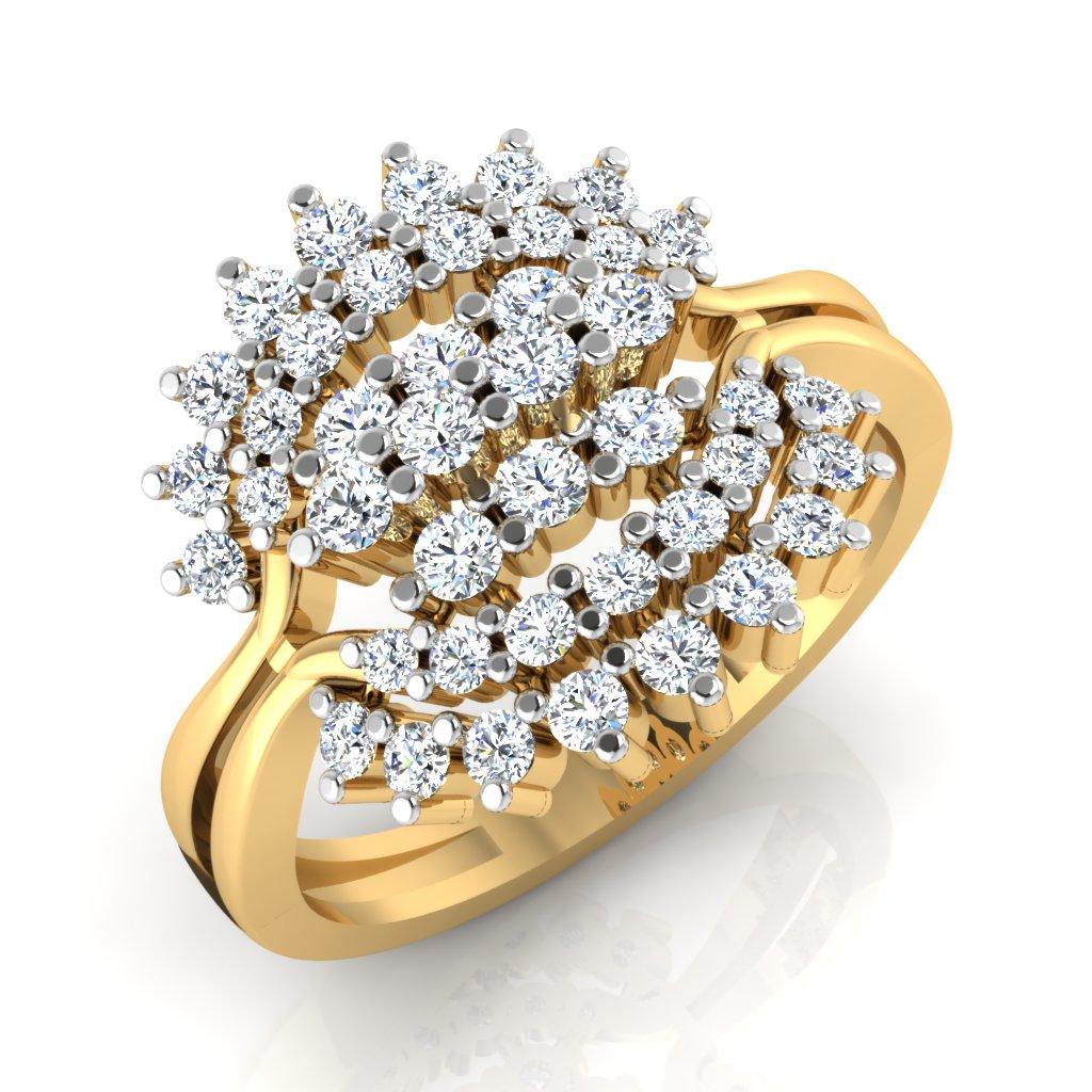 The Flavia Diamond Ring