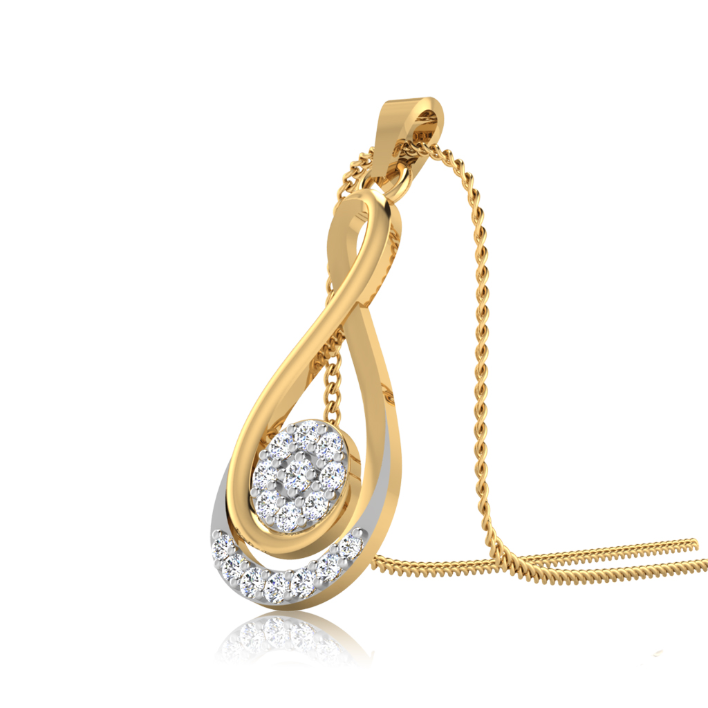 The Ansula Diamond Pendant