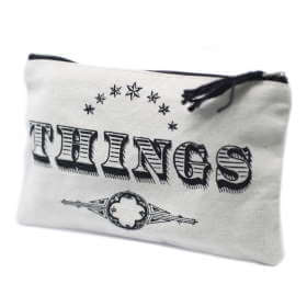 zip pouch - things