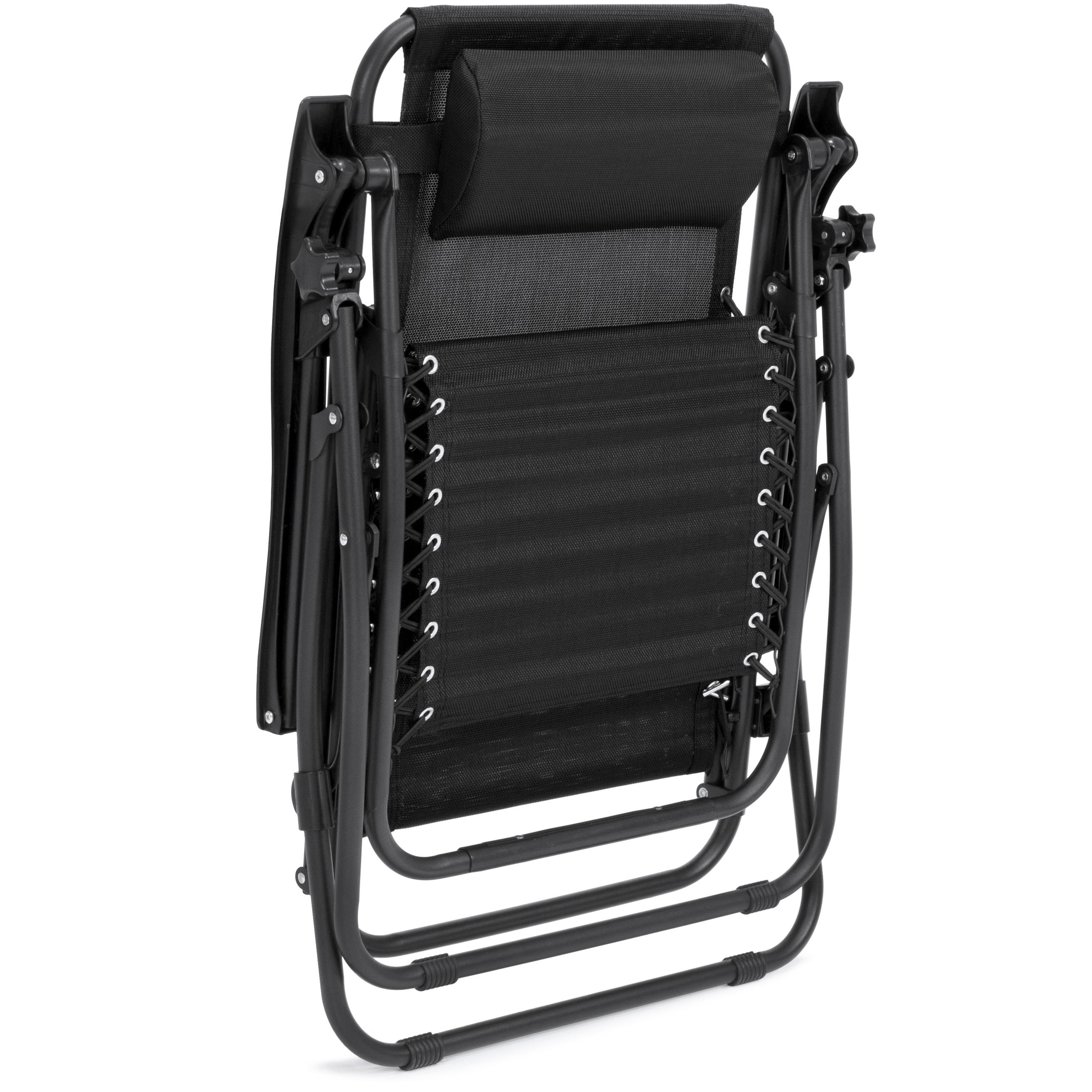 BCP-Set-of-2-Adjustable-Zero-Gravity-Patio-Chair-Recliners-w-Cup-Holders thumbnail 19