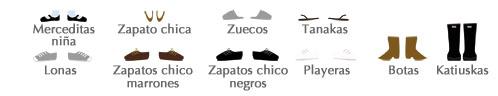 Cómo personalizar tu dibujo, calzado