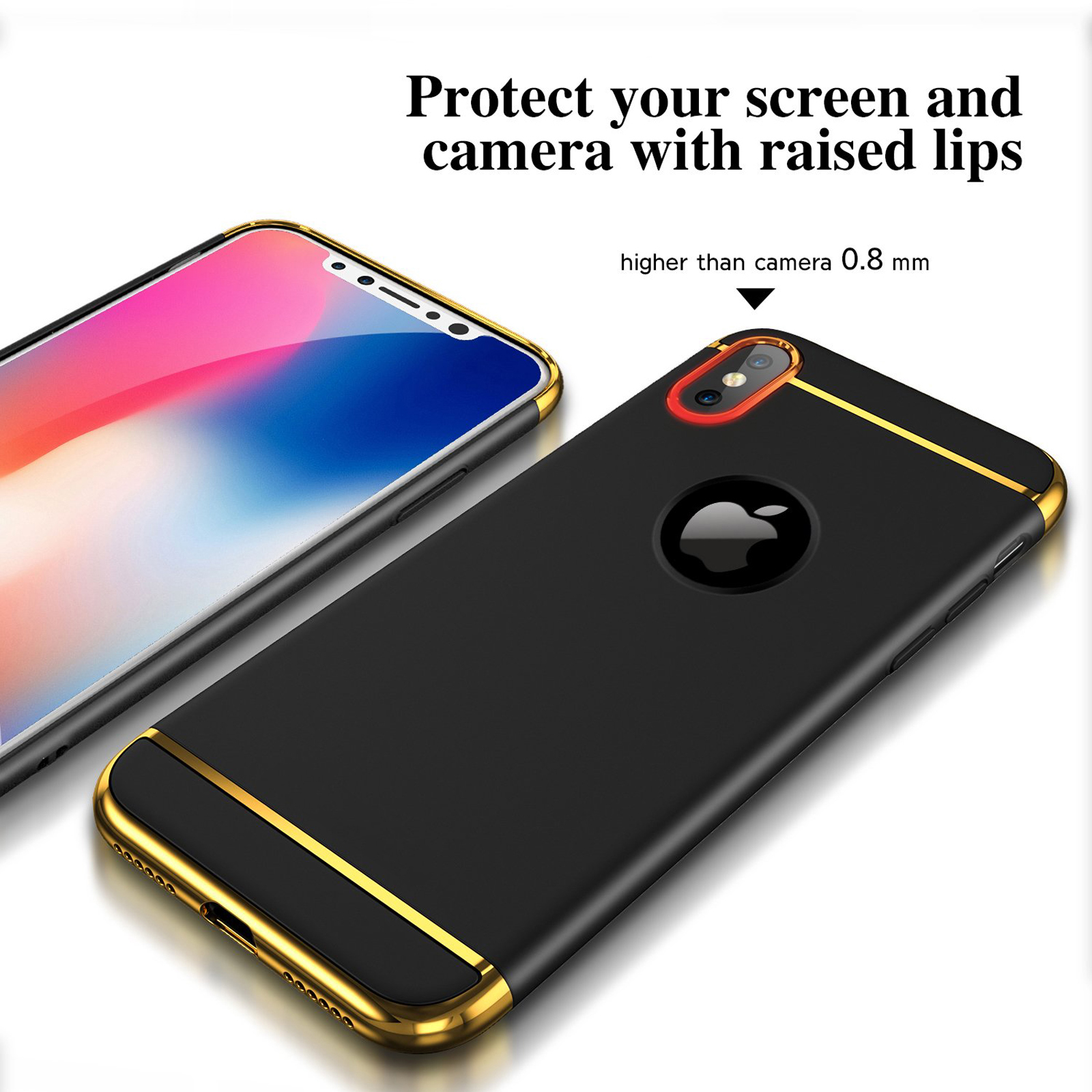 Luxury-Matte-Case-Tempered-Glass-Cover-For-Apple-iPhone-X-XS-XR-Max-10-8-7-6s-6 thumbnail 44
