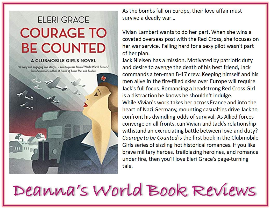 Courage to be Counted by Eleri Grace blurb