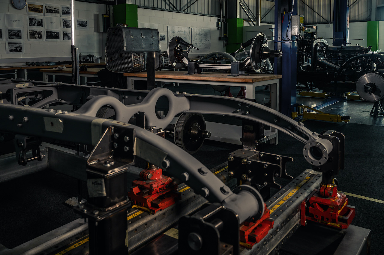 First new Bentley Blower in 90 years starts production