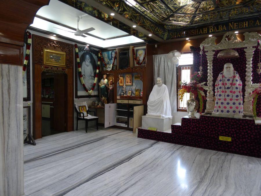 Besuch im Sufi-Dar Chennai