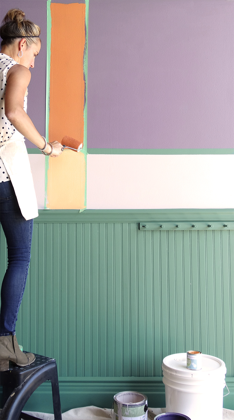 Colorhouse paint DIY project with ACME Farms + Kitchen