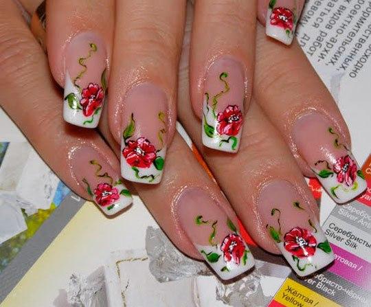 Фото наращивания ногтей гелем самые новинки