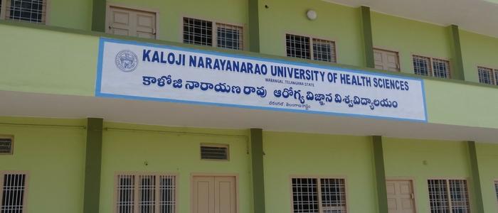 Kaloji Narayana Rao University of Health Sciences, Warangal