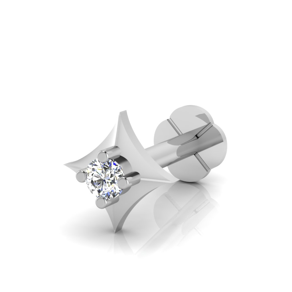 The Beauty Diamond Solitaire Nose Screw