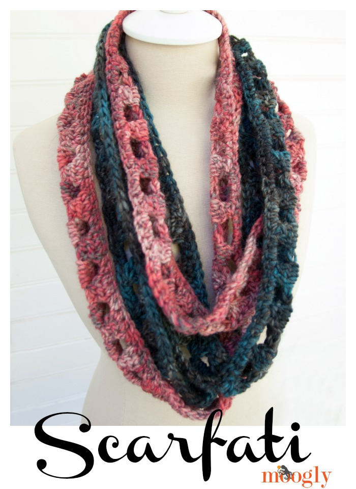 Scarfati Free Crochet Pattern  |  via Crochetrendy