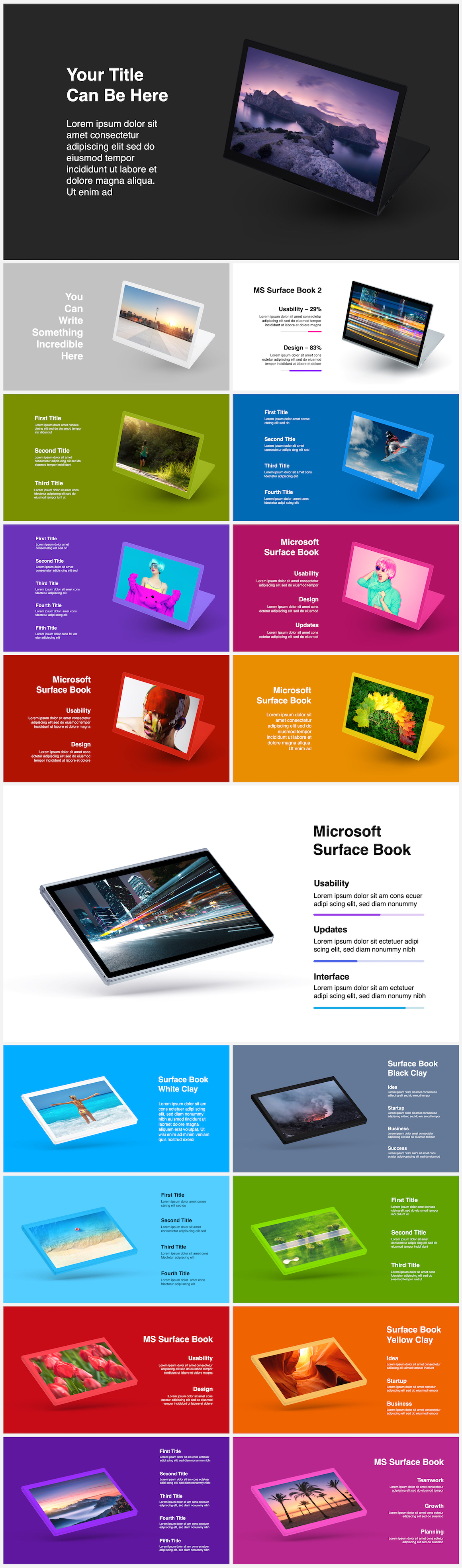 Huge Infographics Bundle! Lifetime Updates! PowerPoint, Photoshop, Illustrator. - 70