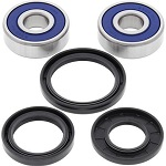 Front Wheel Bearings and Seals Kit Kawasaki Police 1000 KZ1000-P 1982-2005