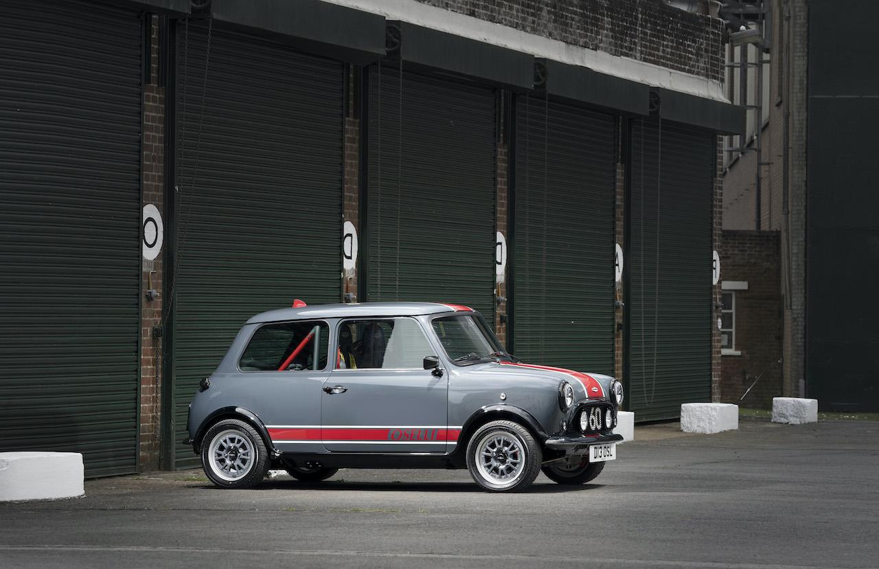 David Brown Automotive reveals Mini Remastered Oselli Edition
