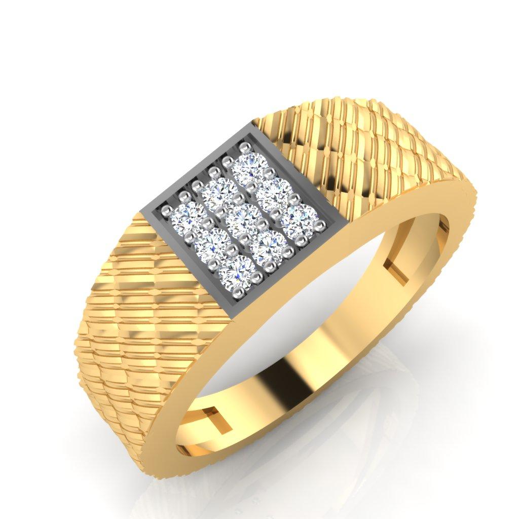 The Jismar Diamond Mens Ring