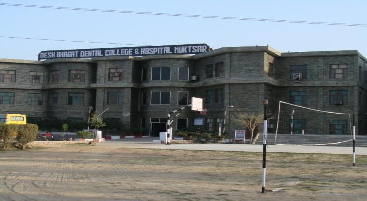 Desh Bhagat Dental College And Hospital, Muktsar