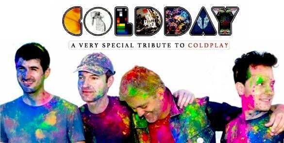 banda tributo Coldplay - Coldday