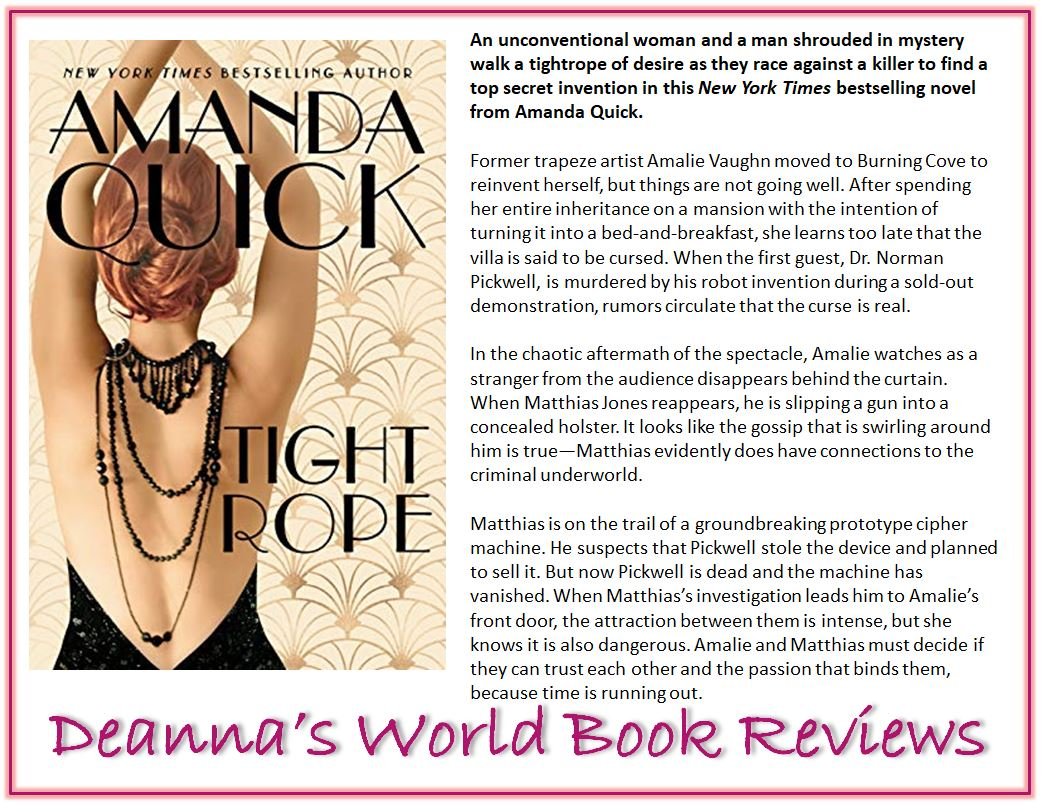 Tightrope by Amanda Quick blurb