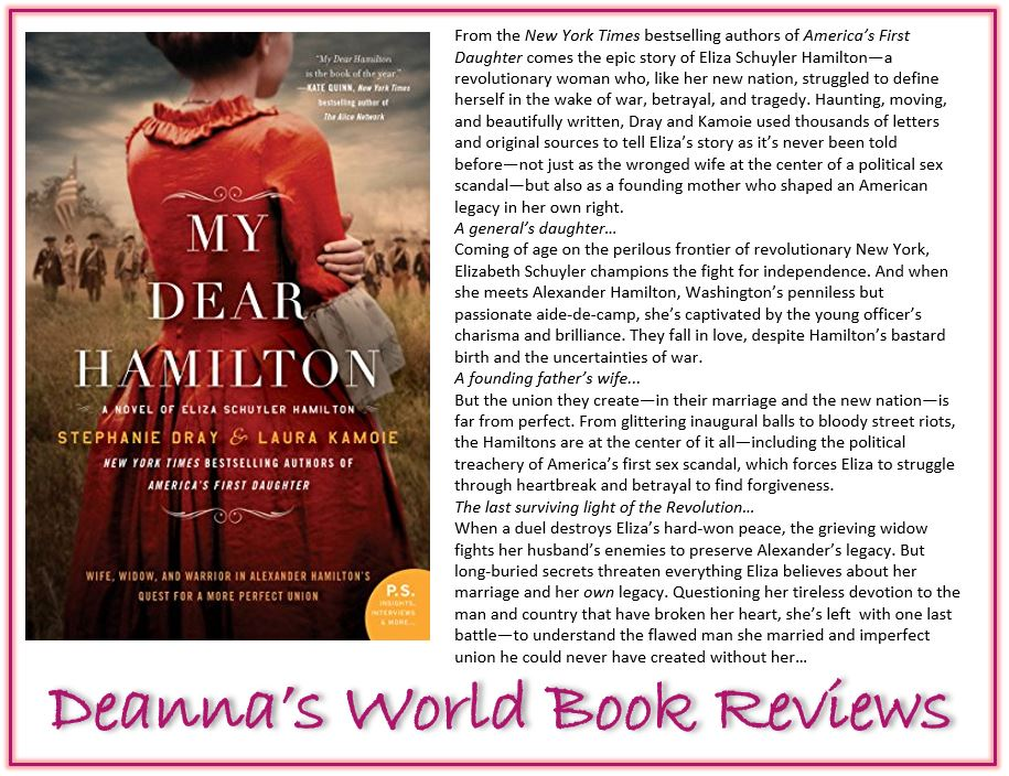 My Dear Hamilton by Stephanie Dray and Laura Kamoie blurb