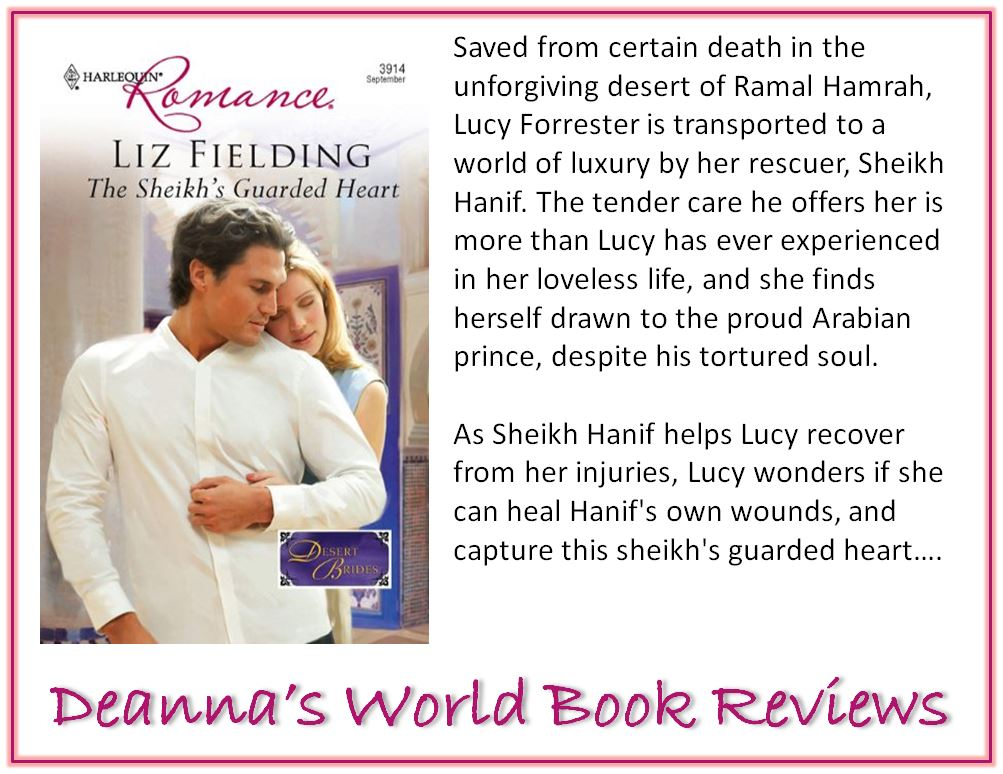 The Sheikh's Guarded Heart by Liz Fielding blurb