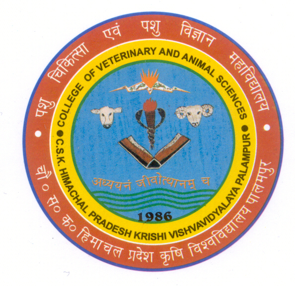 Dr. G.C. Negi College of Veterinary and Animal Sciences, Palampur