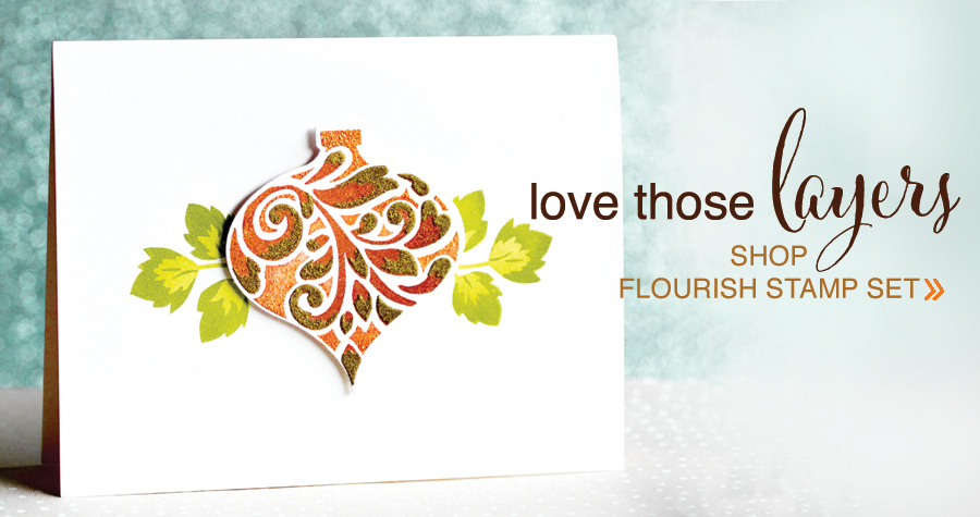 shop Flourish Stamp Set